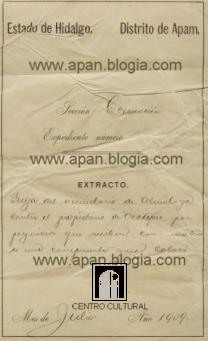 DENUNCIAN AL DUEÑO DE LA HACIENDA DE OCOTEPEC ... EN 1909